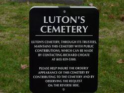Lutons United Methodist Church Cemetery