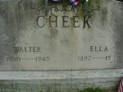 Walter Cheek