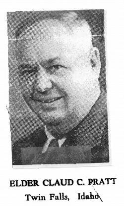 Rev Claud C. Pratt