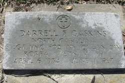 Sgt Darrell Frederick Gaskins