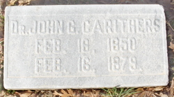Dr John Griffeth Carithers