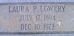 Laura <I>Patterson</I> Lowery