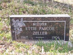 Ettie Pascoe Zeller