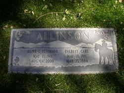 Olive E. <I>Peterson</I> Allinson