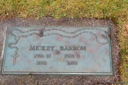 Mickey Barron