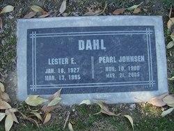 Lester Edwin Dahl