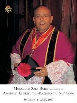 Rev Fr Salv Borg