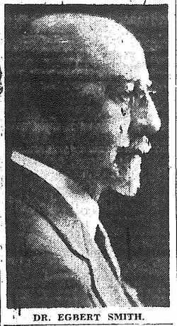 Rev Egbert Watson Smith