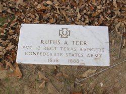 Rufus Anderson Teer