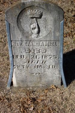 Rev Ellison Amistead Daniel