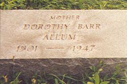 Dorothy <I>Barr</I> Allum