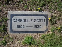 Carroll Edward Scott