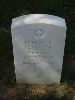 Elmer R Gaylor