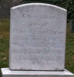 "Ellen ""Nellie"" <I>Shaw</I> Barlow"