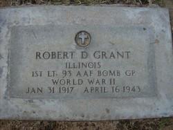 Lieut Robert Daniel Grant