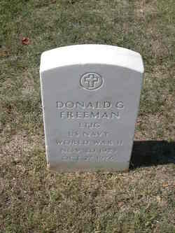Donald G Freeman