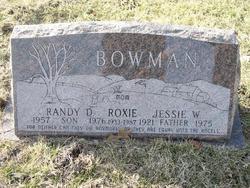 Roxie <I>Schultz</I> Bowman
