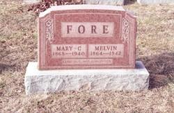 Mary Caroline <I>Arthur</I> Fore