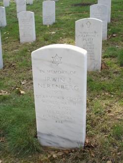 Sgt Irwin J. Nerenberg