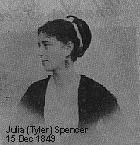 Julia Gardiner <I>Tyler</I> Spencer