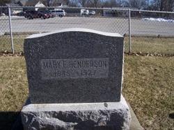 Mary Elizabeth <I>Smith</I> Henderson