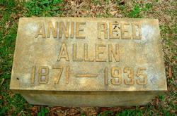 Annie <I>Reed</I> Allen