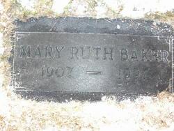 Mary Ruth <I>Beals</I> Baker