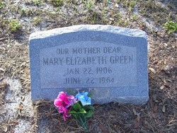 Mary Elizabeth Green