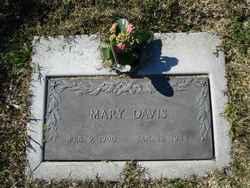 Mary <I>Wyness</I> Davis