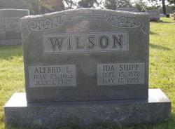 Ida <I>Shipp</I> Wilson