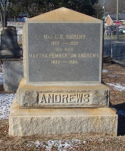 Martha <I>Pemberton</I> Andrews
