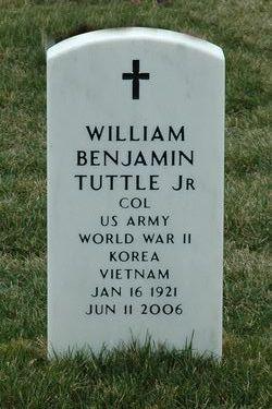 Col William Benjamin Tuttle, Jr