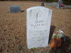 Pvt James McCleskey