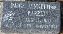 Paige Lynette Barrett