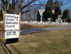 Calvary United Methodist Church Cemetery