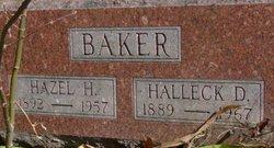 Hazel Helen <I>White</I> Baker