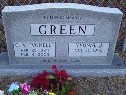 "Cecil Vonell ""C V"" Green"