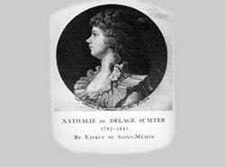 Nathalie Marie Louise Stephanie Beatrix <I>De Delage De Volude</I> Sumter