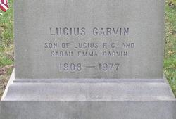 Lucius Garvin