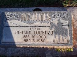 Melvin Lorenzo Adams