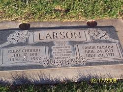 Ruby <I>Cannon</I> Larson