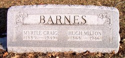 Myrtle <I>Craig</I> Barnes