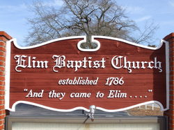 Elim Baptist Church Cemetery