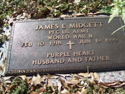 James E Midgett