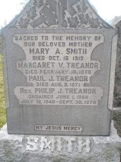 Margaret Veronica <I>Smith</I> Treanor