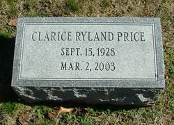 Clarice Bagby <I>Ryland</I> Price