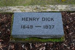 """Heinrich """"Henry"""" Dick"""
