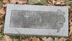 Rhoda A. <I>Webb</I> Story