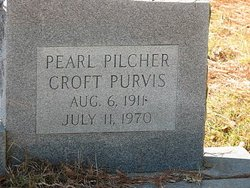 Pearl <I>Pilcher</I> Croft Purvis