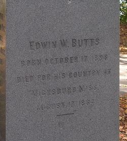 Sgt Edwin Wentworth Butts